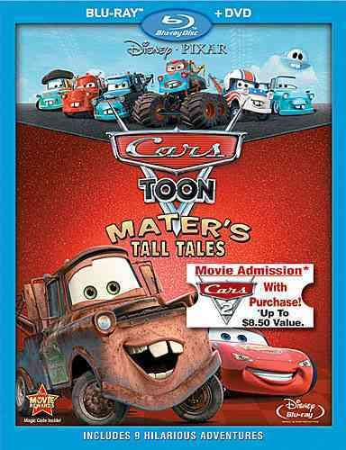 CARS TOON:MATER'S TALL TALES (Blu-Ray)